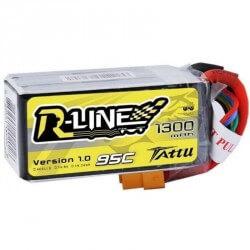 Batterie Lipo TATTU 4S-R-LINE-1300-95C
