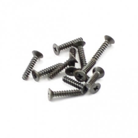 Lot de vis 2,6x12 mm FTX 1/10 -  FTX7290