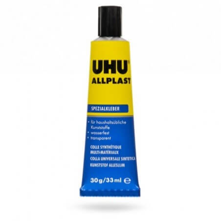 Colle UHU Allplast Tube 33ml