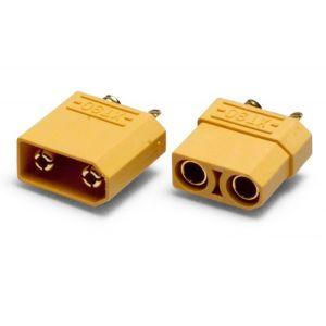 Connecteur XT90 - Male + Femelle 4,5mm , la paire