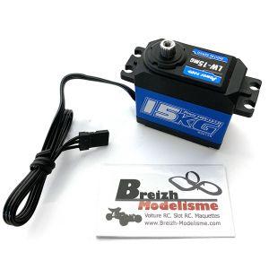 Servo Power HD-LW-15MG Waterproof 15Kg numérique HV pour Crawlers