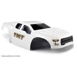 Carrosserie Incassable TMT pour Traxxas Rustler 4x4 - Couleur blanche
