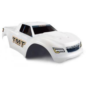 Carrosserie Incassable TMT pour Traxxas MAXX - Couleur blanche
