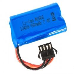 Batterie 7.4V 500 mah pour RX12 FTK-RX12/033