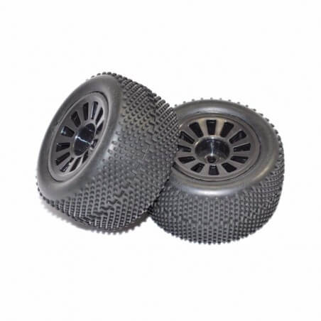FTX6887B Set de 2 roues pour FTX COLT 1/18