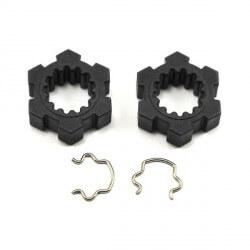 Hexagones de roues + clips X MAXX 1/8 Traxxas 7756