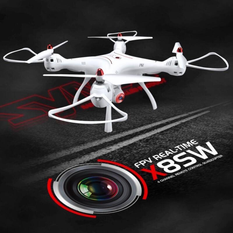 Drone Syma X8SW FPV Wifi avec caméra HD 720P Altimétre