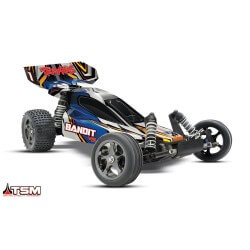 Traxxas Bandit VXL Brushless 3S TQi Wireless & TSM ID RTR 24076-3