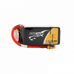 Batterie Lipo TATTU 1300mAh 11,1V 75C 3S1P