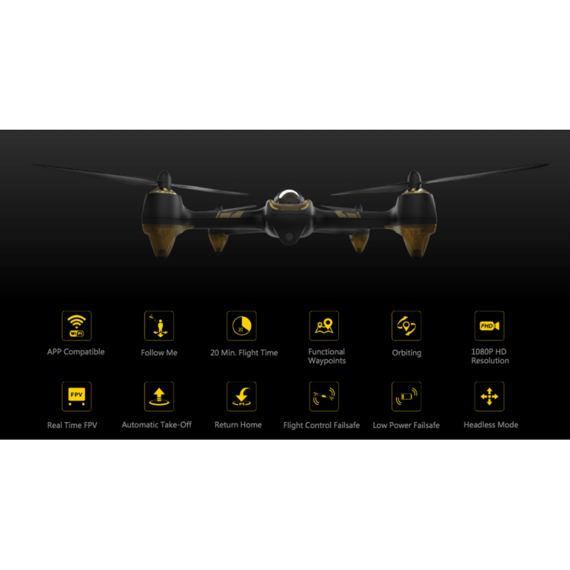 Hubsan H501A X4 Air Pro FPV - FULL HD 1080p