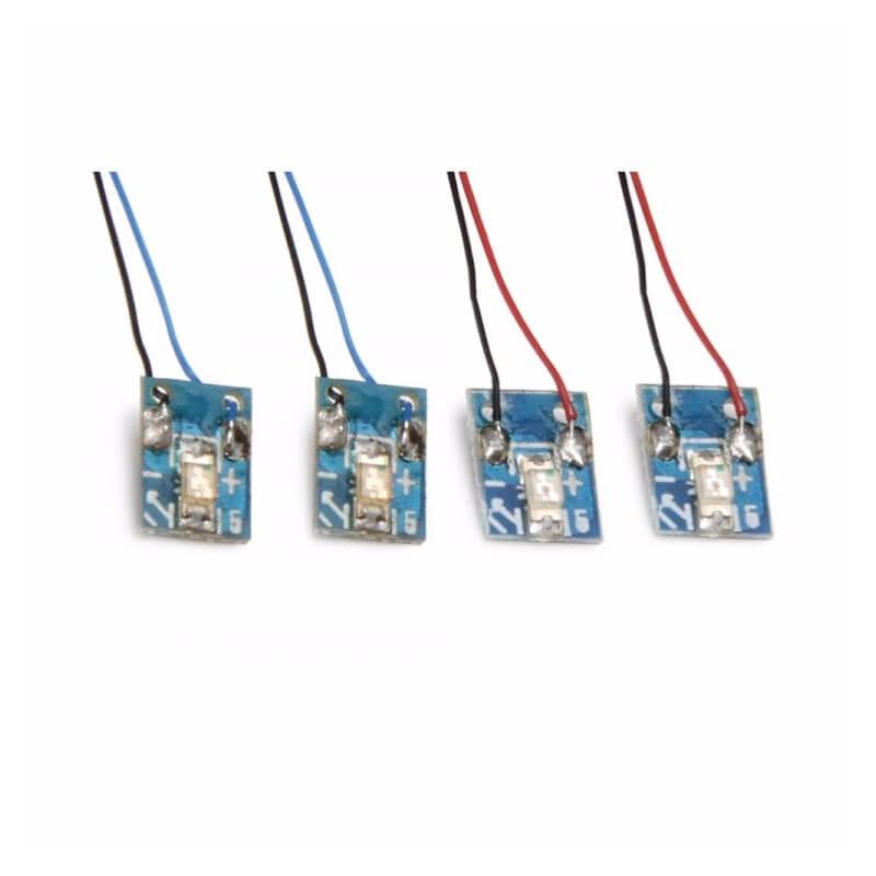 H502-12 Jeu de 4 leds pour Hubsan H502S - H502E - H502C