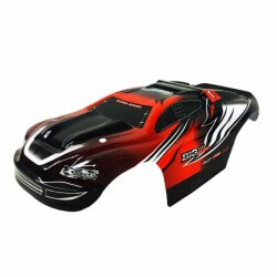 Carrosserie Rouge pour Truggy Metakoo BG1508