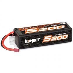Konect Lipo 5200mah 11.1V 50C 3S1P (Big Pack Dean)