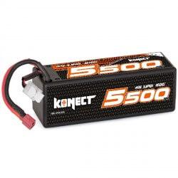 Konect Lipo 5500mah 14.8V 60C 4S1P (XL pack Dean)