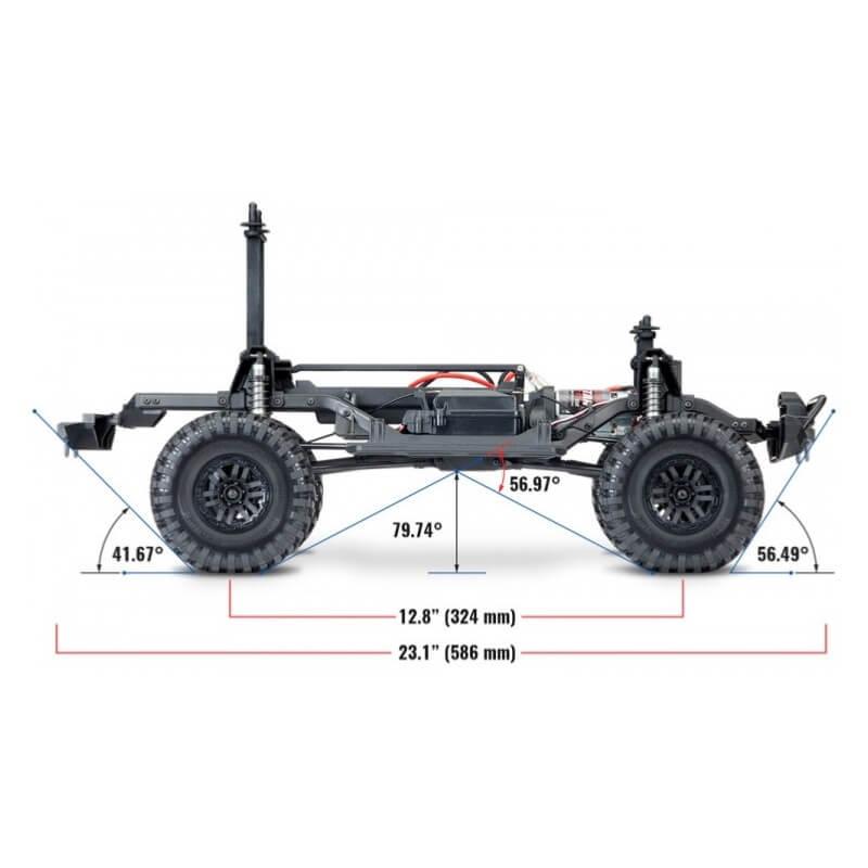 Traxxas TRX4 Scale & Trail Crawler RTR 82056-4