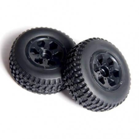 2 roues AV/ARR Short Course 1/10