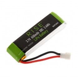Li-Po Batterie 1S 650mAh Vusion 125 RISE - RISP2065