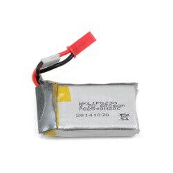 Accu Lipo 1S 3.7V 600mAh HM-V120D02S-Z-24 (4.2 cm x 2.3 cm x 0.9 cm)