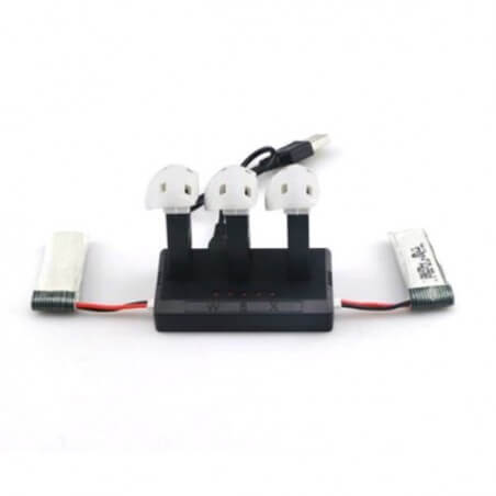 Chargeur Multi-Batteries pour HUBSAN