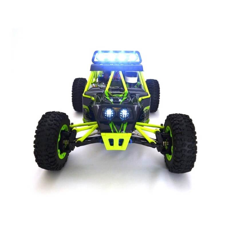 Wltoys 12428 Désert Buggy 4 Roues Motrices 1/12 - 50km/h