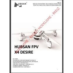 Notice compléte en Franéais du HUBSAN H502S - Envoi par courrier