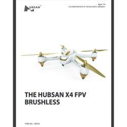 Notice compléte en Franéais du HUBSAN H501S - Envoi par courrier