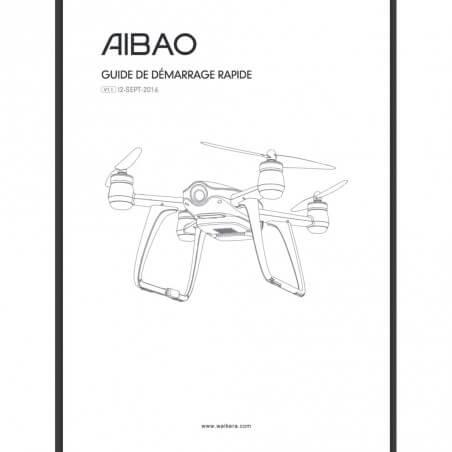 Notice compléte en Franéais du Walkera AIBAO - Envoi par courrier