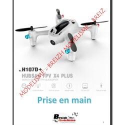 Notice compléte en Franéais du HUBSAN H107D+ - Envoi par courrier