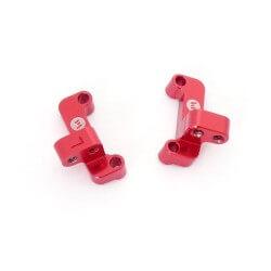 Supports de tirants AV (D et G) en aluminium BX10 - REV-OP14