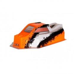 Carrosserie Lexan Noir/blanc/orange BX8SL  - CA-261