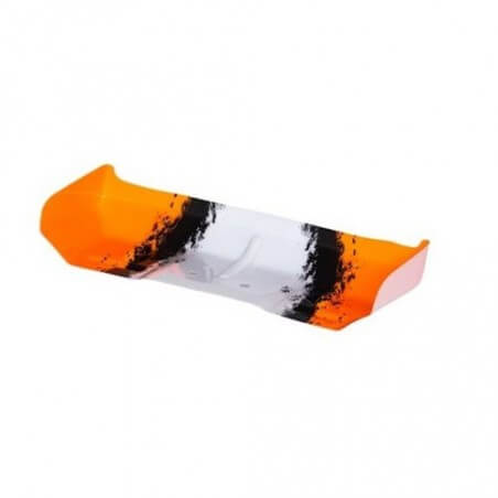 Aileron Lexan Noir/blanc/orange BX8SL  - CA-262