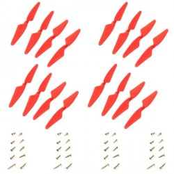 H502E-05 / 16 Hélices (2A + 2B) + Vis Hubsan H502E - H507A - H502C