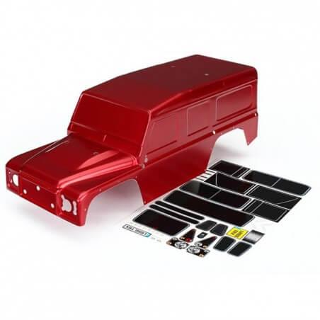 Carrosserie Rouge Defender Traxxas TRX 8011R