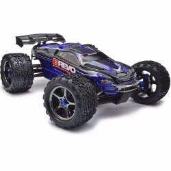 Traxxas E Revo Brushless Wireless TQi TSM RTR (Sans Accus) 56086-4