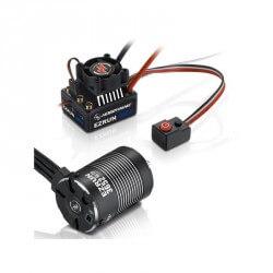 Hobbywing Combo EzRun MAX10 60A + Moteur 3652SL 3300KV 1/10