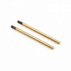 Tige d'amortisseurs trés longues traité acier + couche titane-TRX2656T