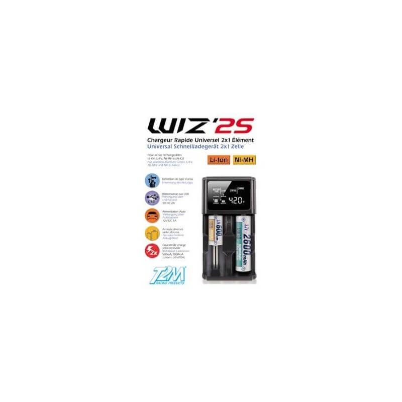 Chargeur rapide Wiz'2S