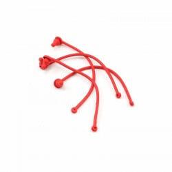 Maintien clips de carrosserie x4 Rouge- Traxxas 5752