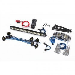 TRX4 - Kit complet led + Alimentation 3v 0,5A Traxxas TRX 8030