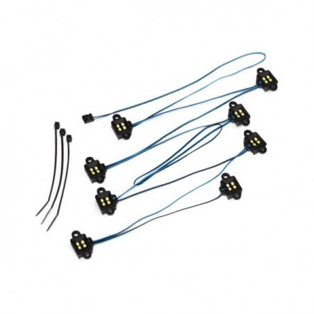 TRX4 - Led Rock Light Kit (Nécessite TRX8028) Traxxas TRX 8026
