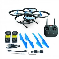 Drone Discovery 2 U818A PLUS WIFI FPV Maintient d'Altitude x2 batteries