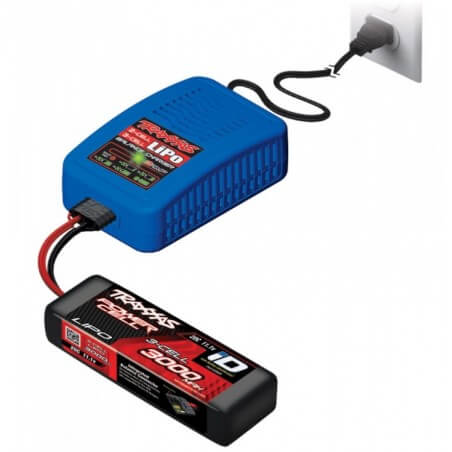 Chargeur Lipo ID 2S -3S 3A Traxxas TRX 2948G