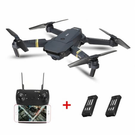 Eachine E58 FPV WIFI Caméra HD 720p + 3 Batteries