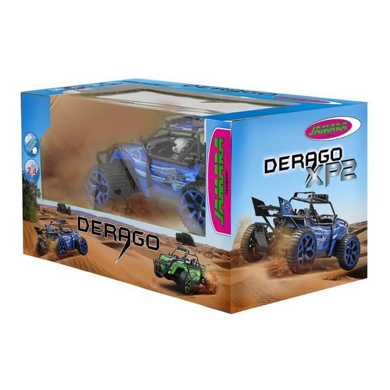 Voiture Télécommandée Derago XP1 4WD 2,4G bleu, Enfants  +8 ans