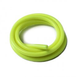 Durit silicone jaune 2x5mm