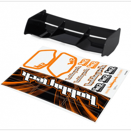 Aileron Noir Buggy 1/8 Racing + stickers