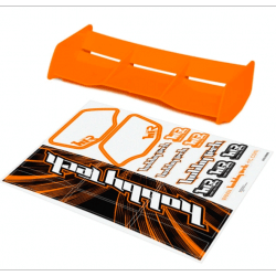 Aileron orange Buggy 1/8 Racing + stickers
