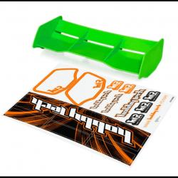 Aileron vert Buggy 1/8 Racing + stickers