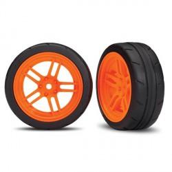 2 Pneus + Jantes Avant Orange 1,9 -TRX 8373A