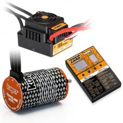 Konect Combo Variateur Brushless 150A WP + Moteur 4268 1900KV + Carte